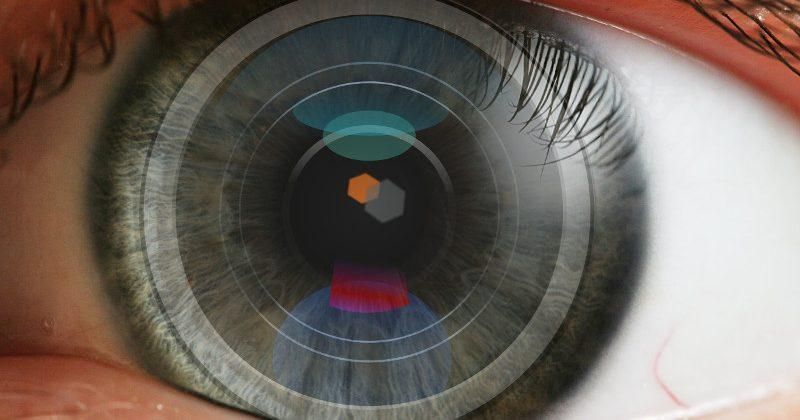 Sony patents a contact lens that houses a camera