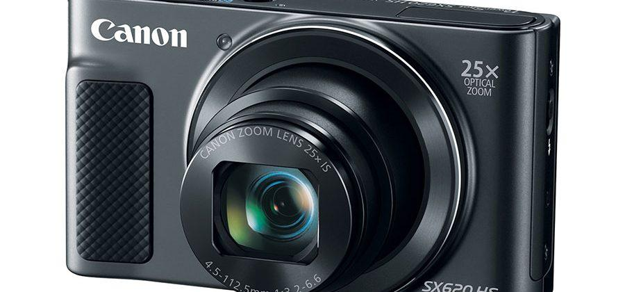 Canon PowerShot SX620 HS rocks 25x optical zoom and wireless sharing