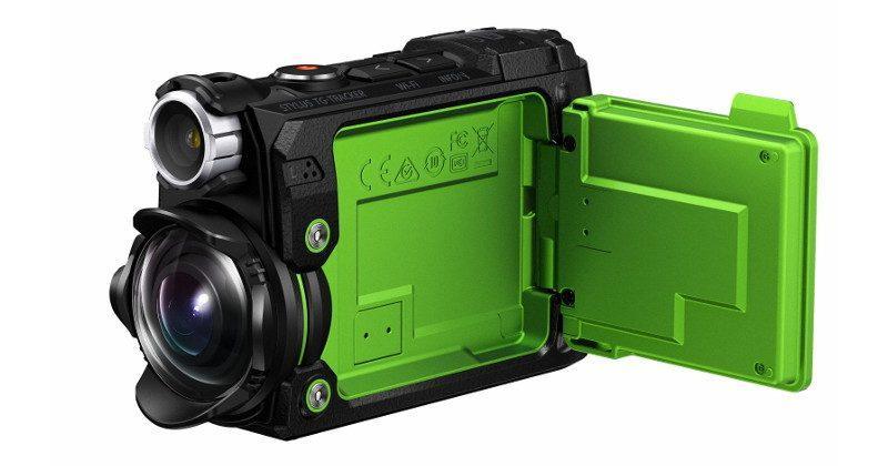 Olympus Stylus TG-Tracker action cam crams 4K, sensors inside