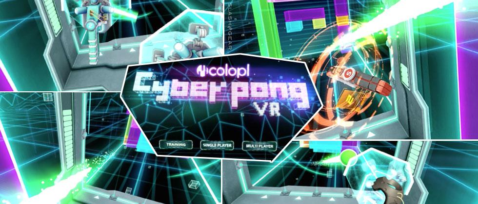 Cyberpong VR Review : Simple and Sharp