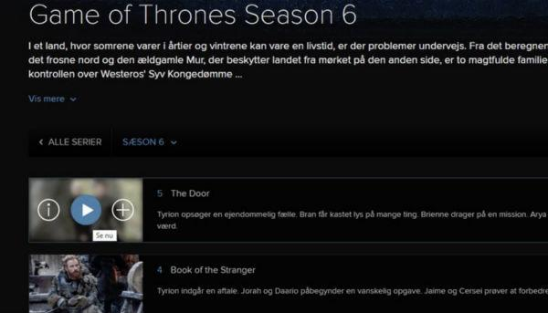New Game of Thrones episode leaked online (by HBO)