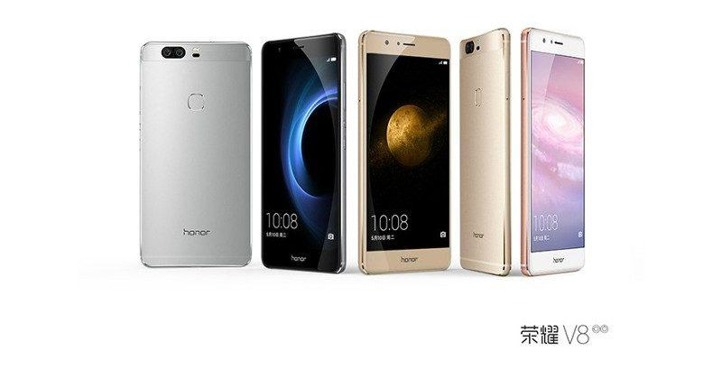 Huawei honor v8 puts a lot of focus on its dual camera