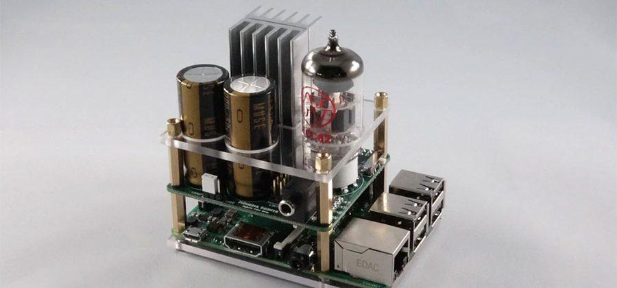 Hybrid Tube Amp for Raspberry Pi is an audio fans dream