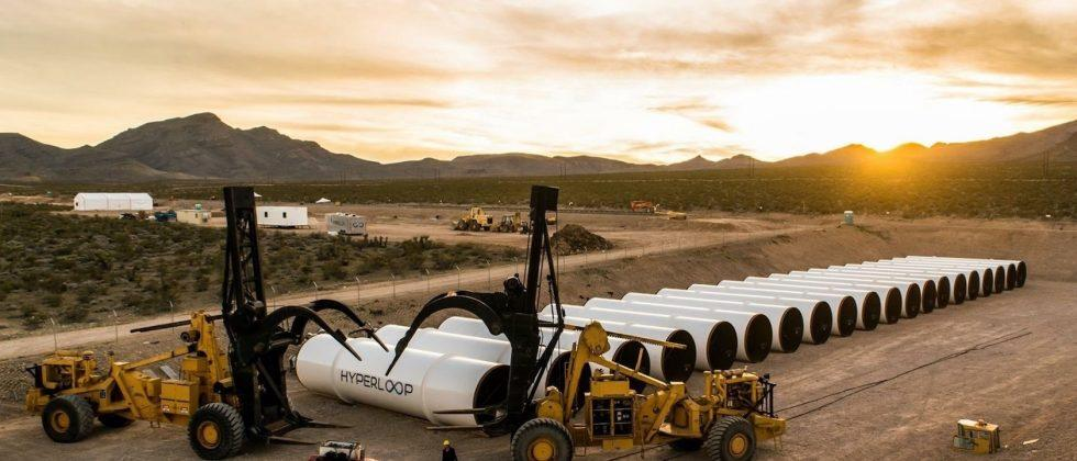 Hyperloop One's first big propulsion test was a success
