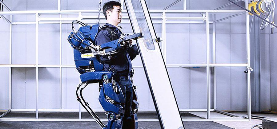 Hyundai unveils robot exoskeleton that gives you super-strength