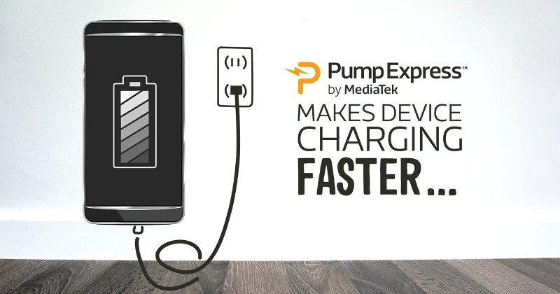 MediaTek Pump Express 3.0 promises 70% charge in 20 minutes