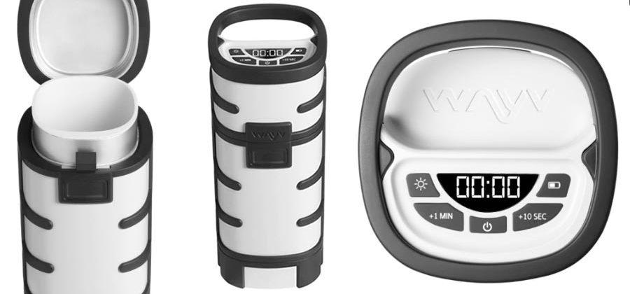 Wayv Adventurer is a portable, rugged microwave for lazy camping