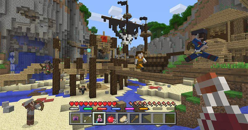 Minecraft gets Hunger Games-style Battle mode