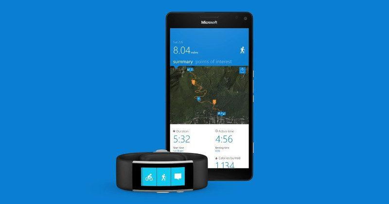 Microsoft Band 2 will finally track your hikes and walks