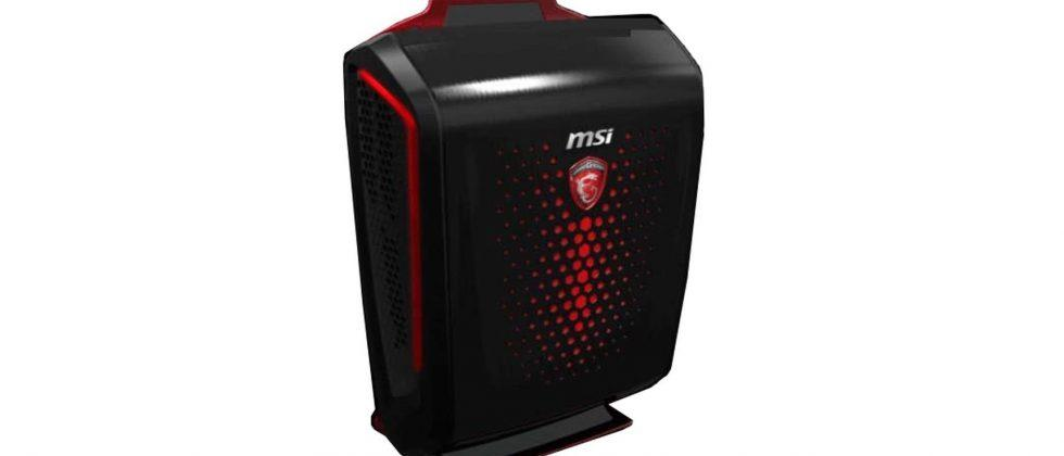 VR goes portable with MSI's new backpack computer