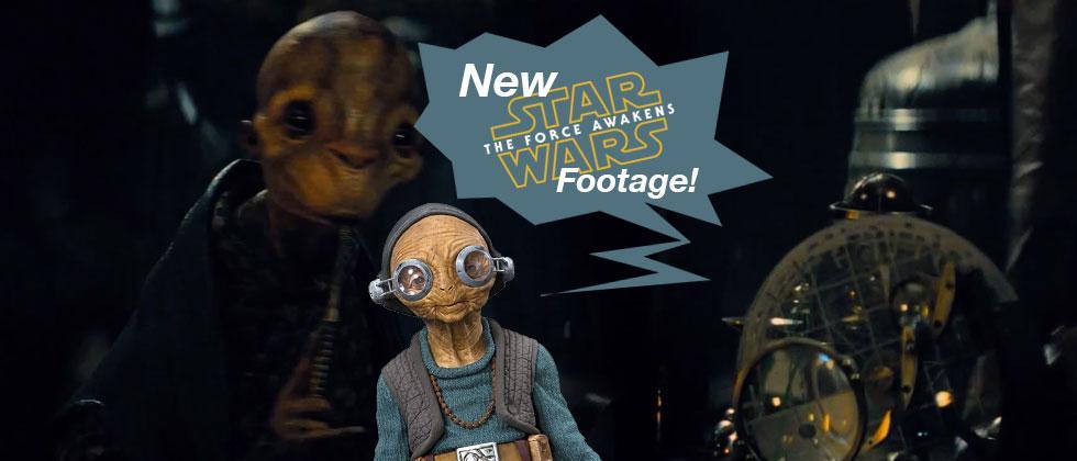 New Star Wars: TFA movie footage explores Maz's Castle in brief
