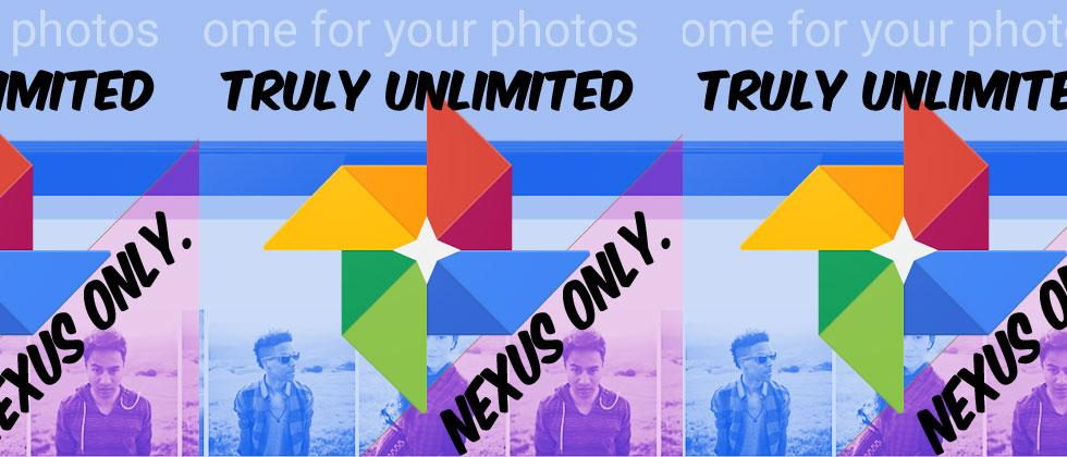 "Nexus phones get unlimited ""Original Quality"" Google Photos storage soon"