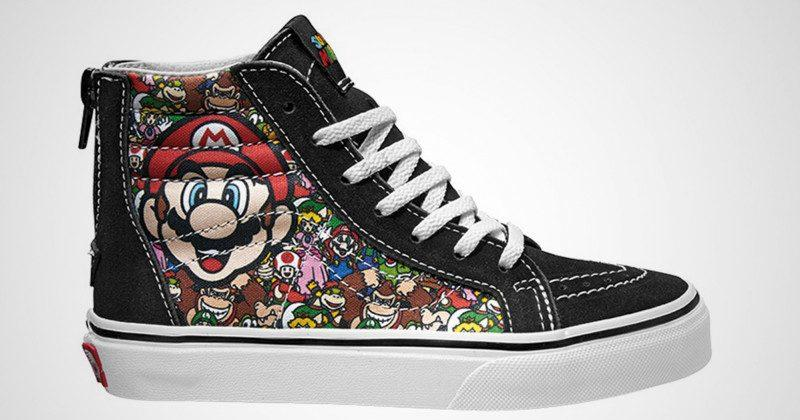 Nintendo teams up with Vans for retro sneaker line