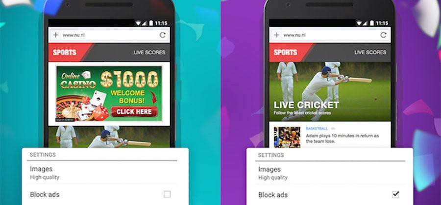 Opera and Opera Mini get built-in ad blocker