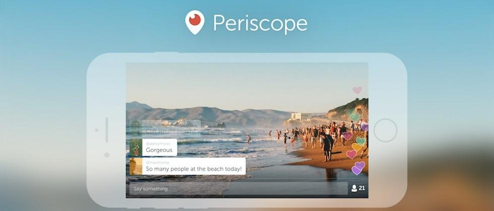 Periscope will let you save videos, and broadcast from DJI drones