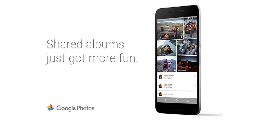 Google Photos shared albums get comment support