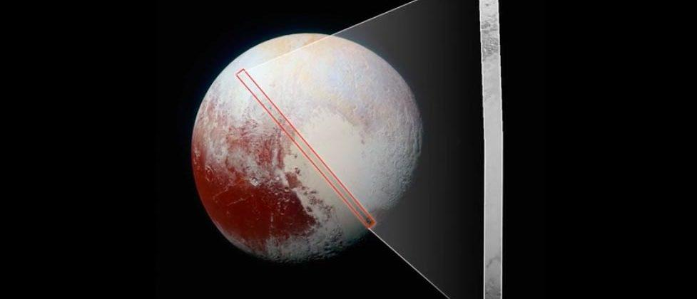 New Horizons shows most detailed view of Pluto's surface to date