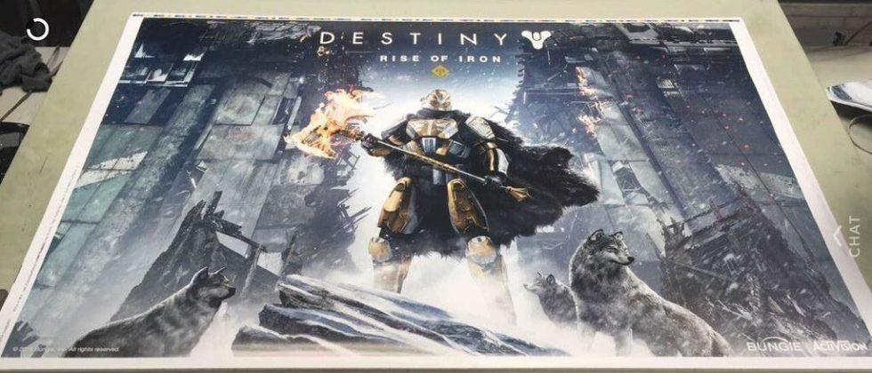 Destiny: Rise of Iron poster leak teases next expansion