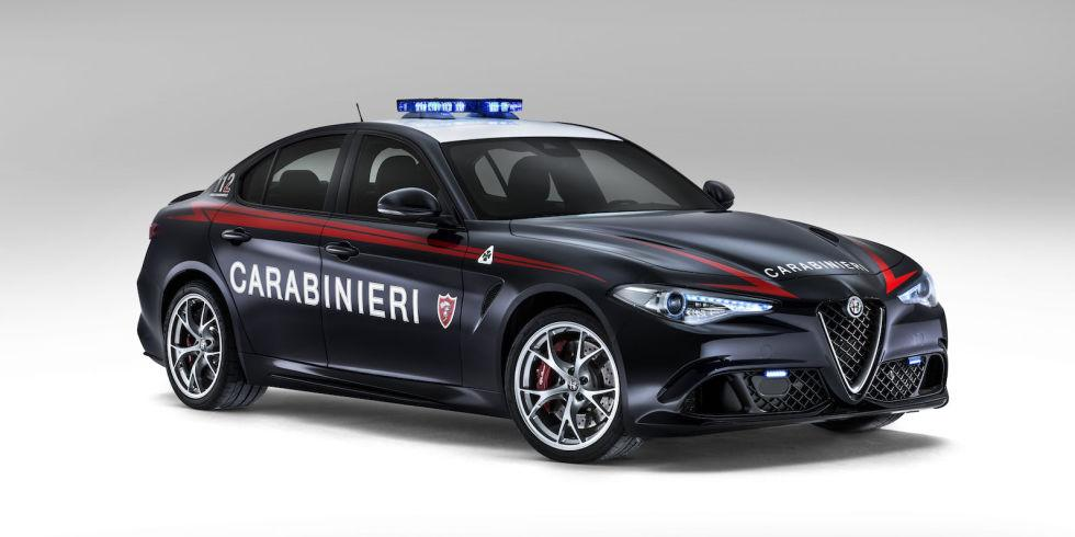 This 505hp Alfa Romeo Giulia is only for Italy's police force