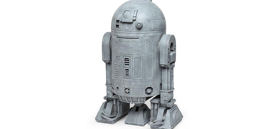 R2-D2 lawn ornament is a droid for your flower bed