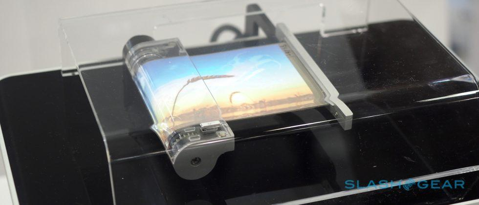 Watch Samsung's rollable display in action