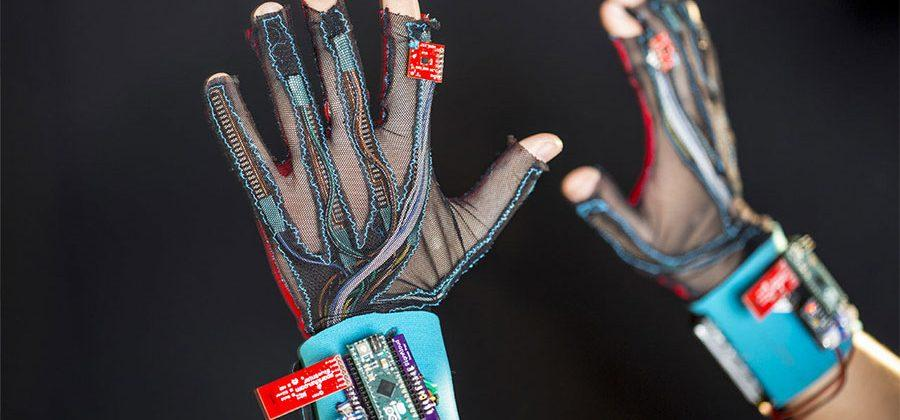 Sign language translating gloves turn sign language into audio