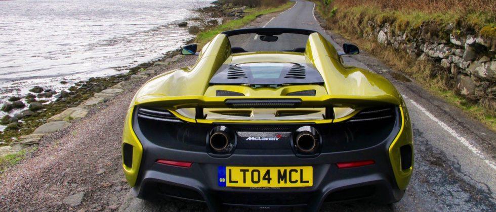 McLaren 675LT Spider First Drive