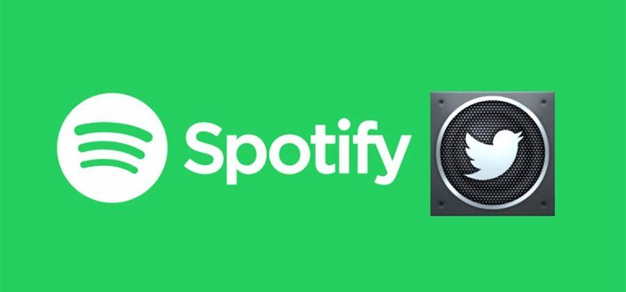 Twitter audio cards gain Spotify support