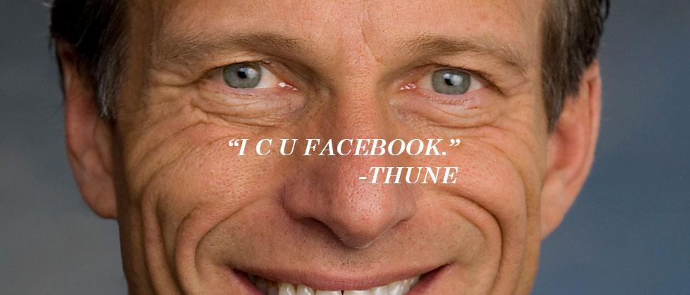 Republican Senator mad at Facebook for news bias