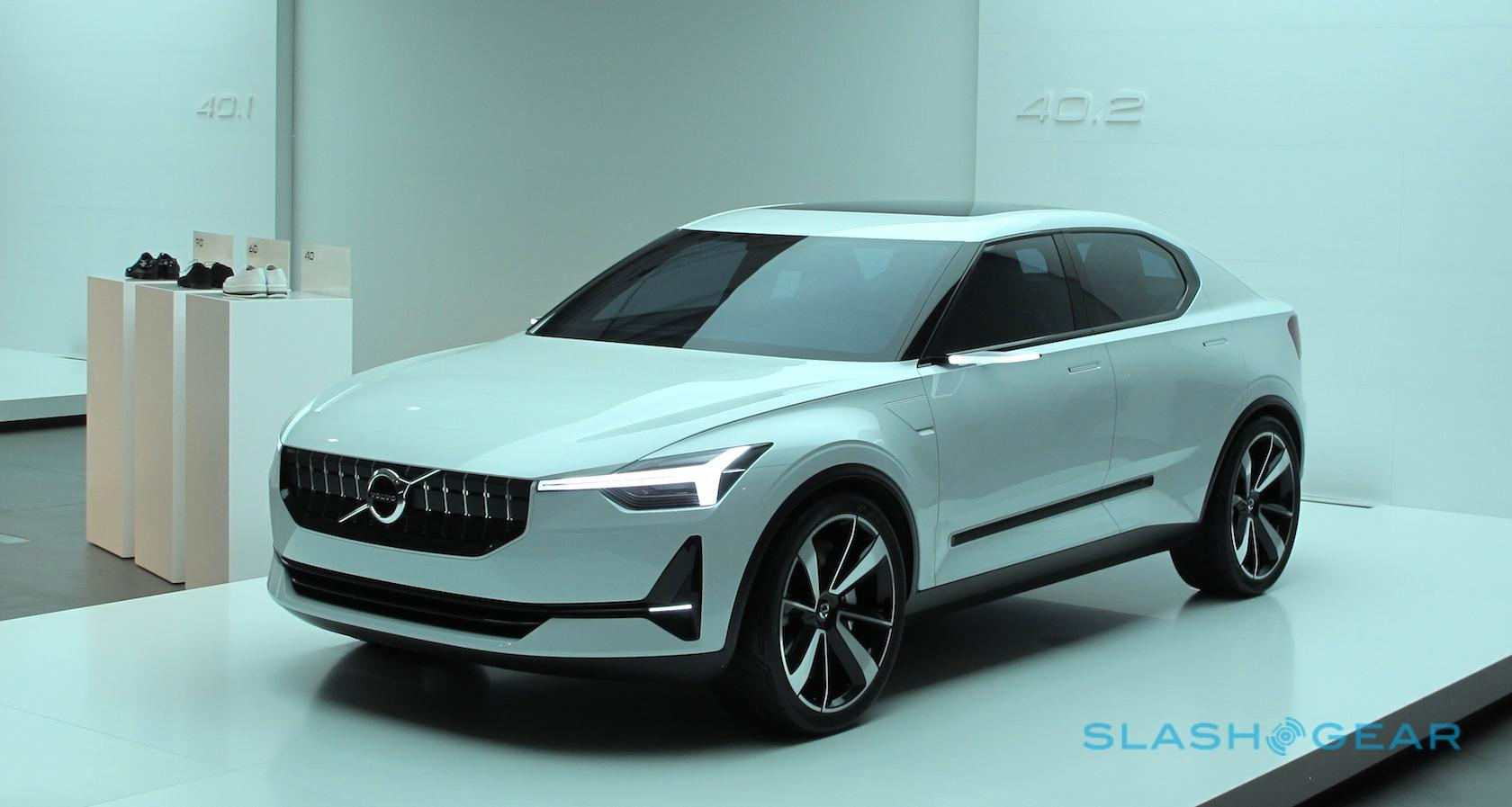 After The Volvo 40 2 Production Ev Plans A Fully Electric Version Of Xc40 Compact Crossover Is Basis Its Care By Car
