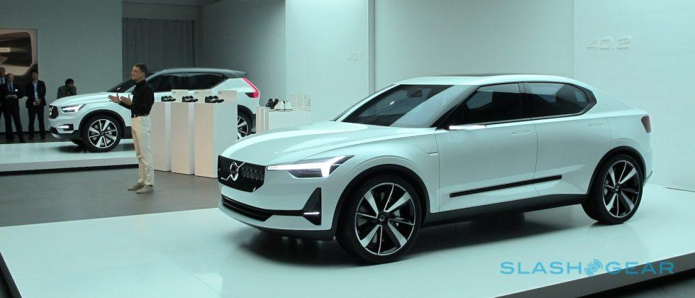 Close up with the Volvo 40.1 and 40.2 Concepts: 2018's XC40 and S40