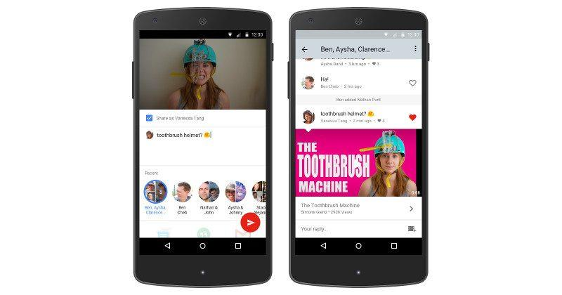 YouTube's Messenger will soon have you chatting inside YouTube