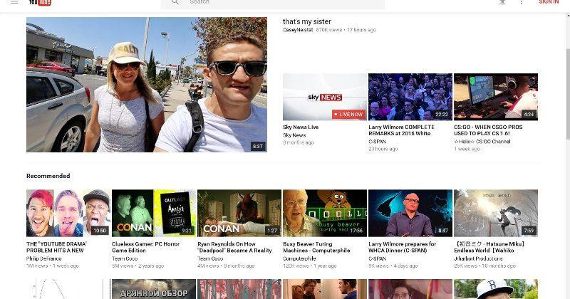 YouTube is testing new Material look, you can test it too