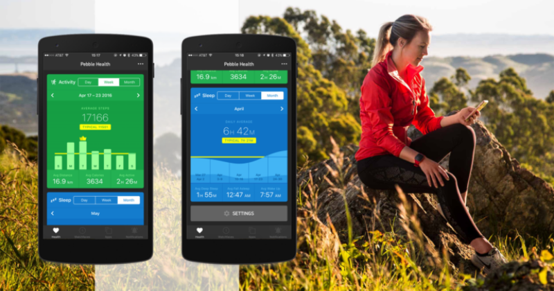 Pebble gets a new Weather app, Health gets more accurate