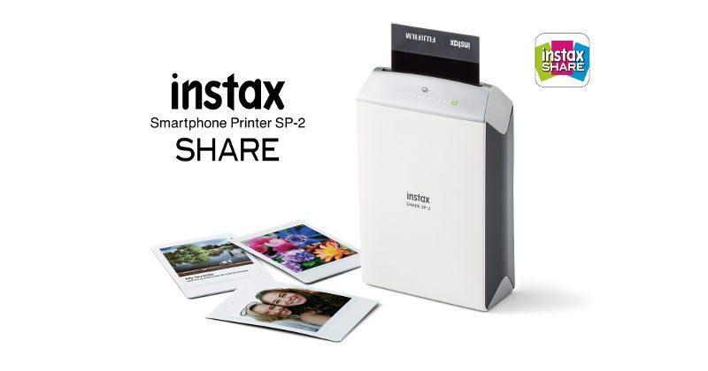 Fujifilm instax SHARE SP-2 prints smartphone pics in 10s
