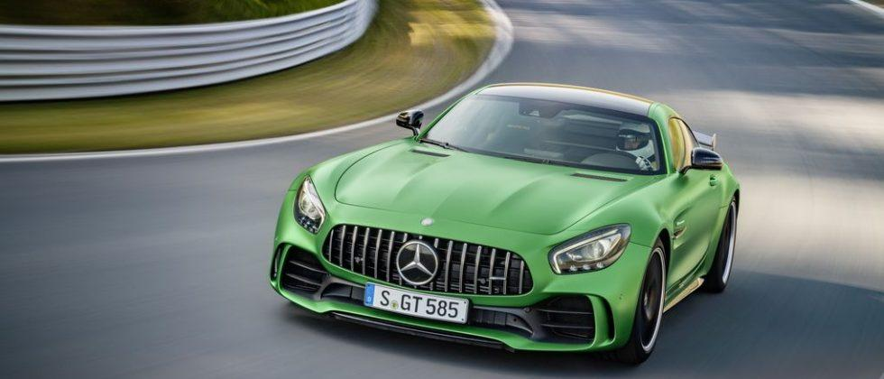 Mercedes-Benz AMG GT R will leave you green with envy