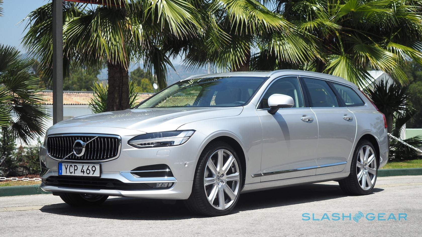 2018 Volvo V90 Preview Roll Out The Welcome Wagon Slashgear