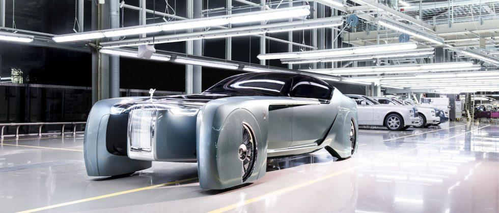 This astonishing Rolls-Royce VISION NEXT 100 concept is sublimely crazy