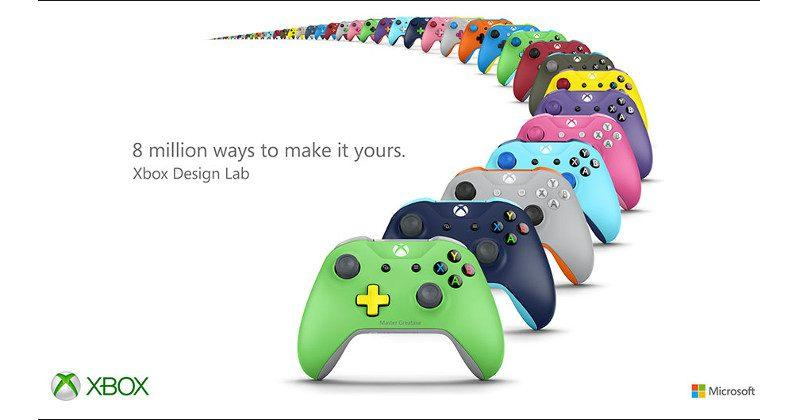Xbox Design Lab offers customized Xbox Wireless Controllers