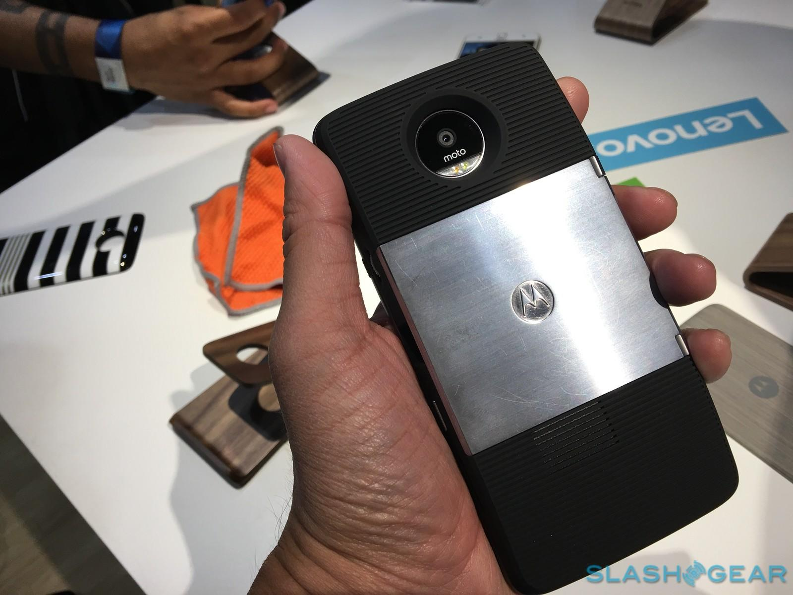 Moto Z first impressions and hands-on - SlashGear