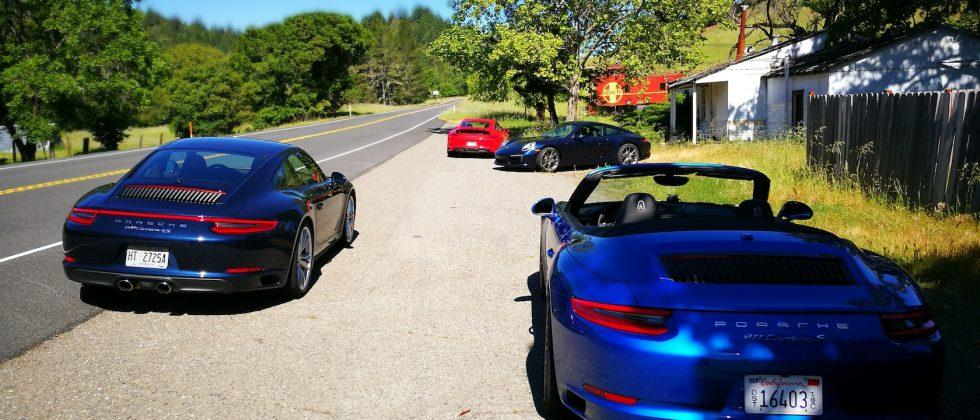 2017 Porsche 911 Carrera S Cabriolet and 4S first drive