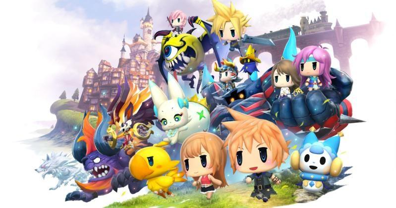 World of Final Fantasy brings cute to PS4, Vita in October