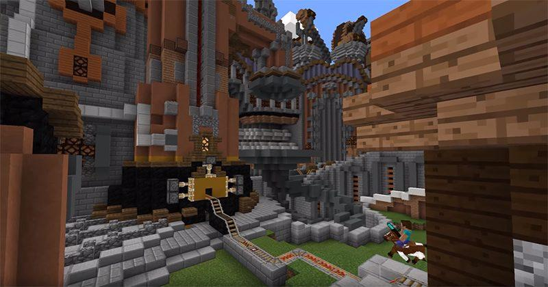 Minecraft Pocket and Windows 10 Editions get pistons galore