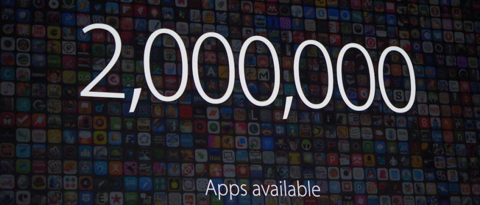 Apple's App Store now has 2 million apps