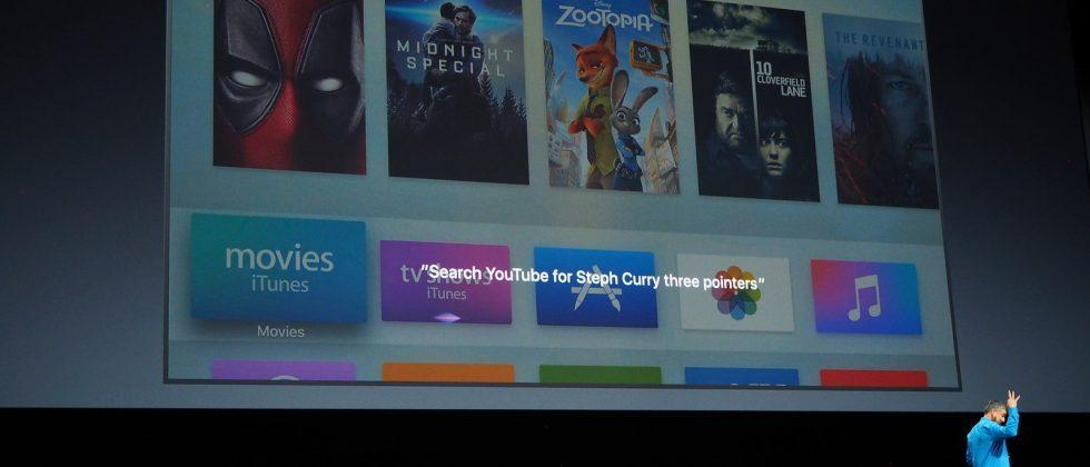 Apple TV updated with iPhone remote, Siri upgrade, YouTube search
