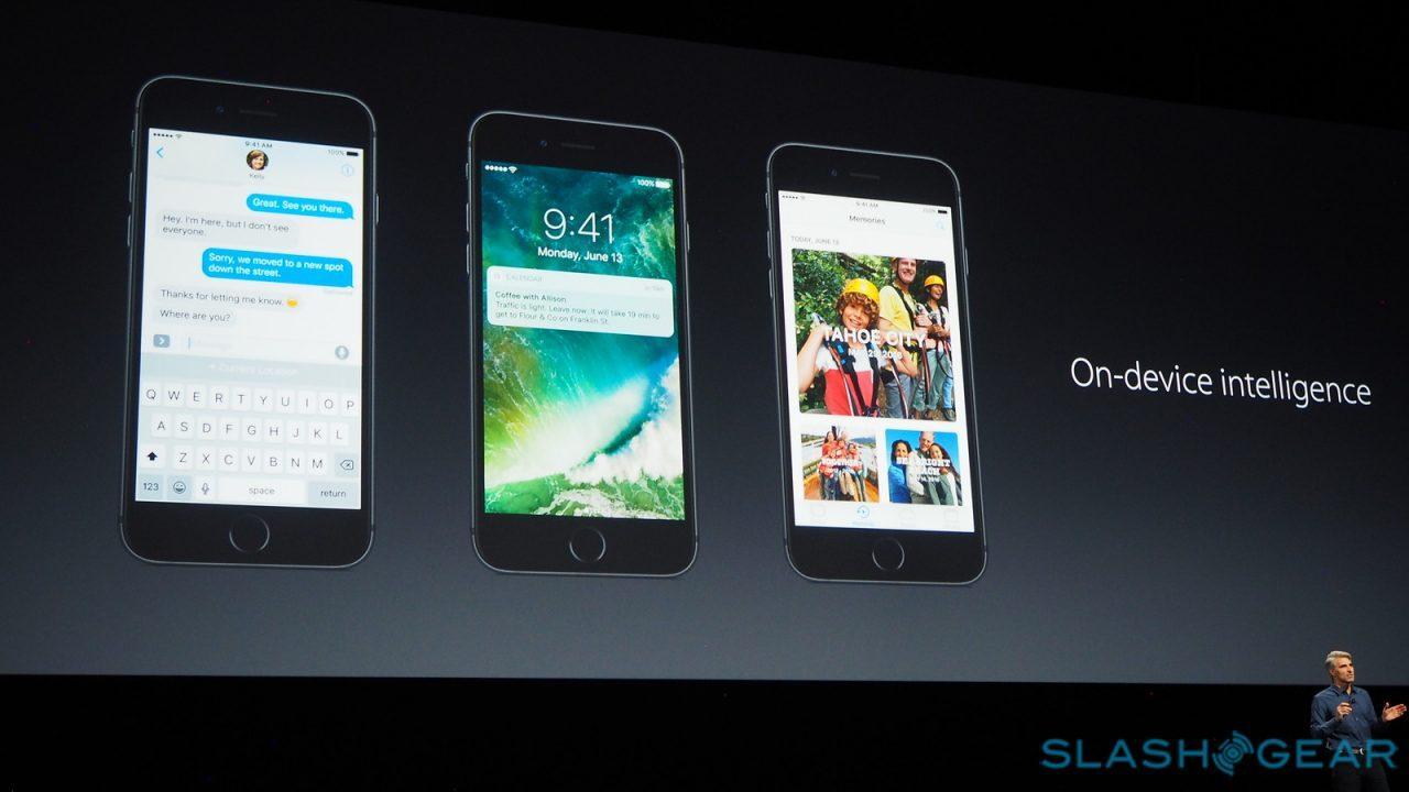 Apple on-device intelligence