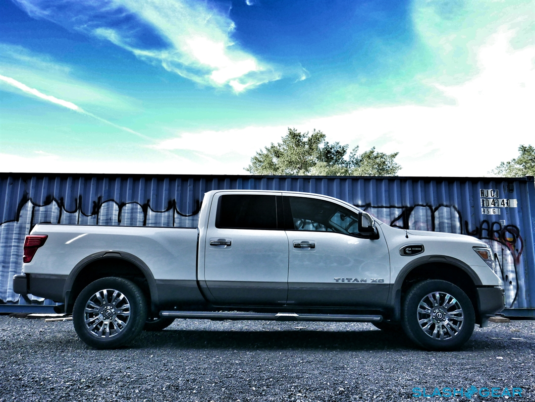 2016 Nissan Titan Xd Review Not Quite Hd Pickup Makes Cannonball