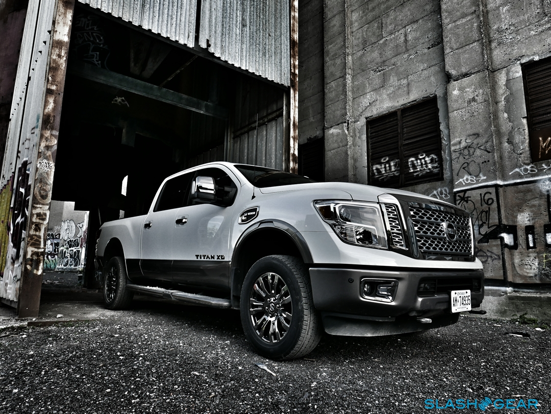 2016 Nissan An Xd Review Not Quite Hd Pickup Makes Cannonball Splash