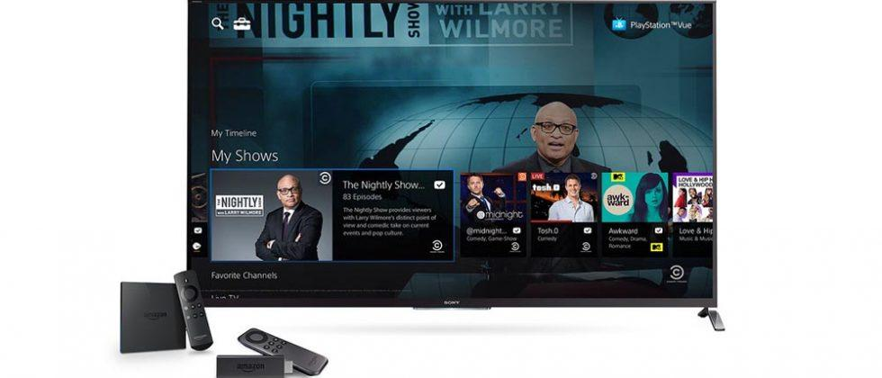 PlayStation Vue arrives on Android, PS4 gets thumbnail preview