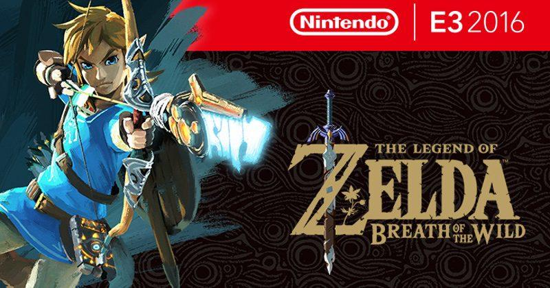 The Legend of Zelda: Breath of the Wild still has a male Link